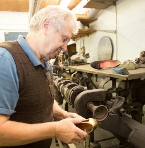 Josif Bereczki, Master Cobbler at Marsden's Shoe Repair Shop